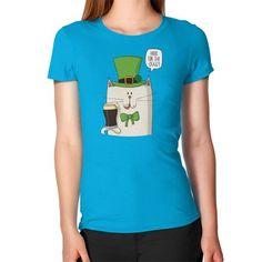 Irish cat patricks day Women's T-Shirt