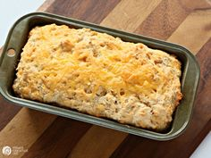 Heat it Up {Recipe: Beer Bread} - Dine and Dish - Easy Cheddar Beer Bread Recipe - A Helicopter Mom - Pumpkin Bread Is Great. Beer Bread Is Great. What About Pumpkin-Beer Bread? Beer Cheese Bread Recipe, Garlic Cheese Bread, Beer Bread, Bread Food, Fruit Bread, Bread Baking, Cheddar Cheese, Artisan Bread Recipes, Bread Machine Recipes