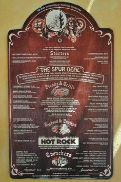 Remember when Spur menus were printed on wood Those Were The Days, The Good Old Days, Nostalgia 70s, 80 Tv Shows, Childhood Memories 90s, Vintage Menu, Do You Remember, African History, Sweet Memories