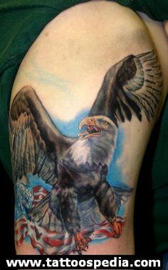Eagle Tattoos 4 - http://tattoospedia.com/eagle-tattoos-4/