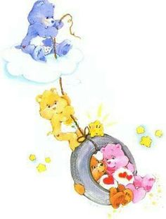 Care Bears: Grumpy, Friend, Tenderheart & Love-a-Lot Bear