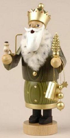 3 Kings Nativity Wisemen Balthasar German Christmas Incense Smoker