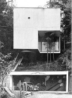 1971 Blue Box House | Designed- Mayumi Miyawaki | Tokyo, Japan