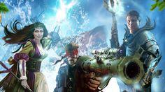 Тайный город — игровое приложение MMORPG