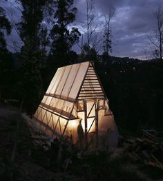 The Triangle of the Vegetables /Productive Community Greenhouse | Natura Futura Arquitectura | Archinect