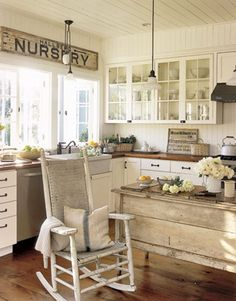 clear glass top cupboards with nobs. Vintage Decorating Ideas For Home