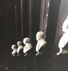Many of the busts in the Long Room of the Trinity College Library are of great philosophers, writers, and men who supported the college. Where are the women? Trinity College Dublin, Long Room, Great Philosophers, College Library, Media Specialist, Writers, Wander, Ireland, Sculptures