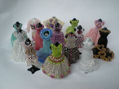 A Must Do! Miniature Beaded Dresses and Bags by Sian Nolan