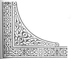 орнамент в росписи церкви: 14 тыс изображений найдено в Яндекс.Картинках Stencil Patterns, Tile Patterns, Pattern Art, Islamic Art Pattern, Arabesque Pattern, Baroque Design, Leather Bound Books, Islamic Wall Art, Turkish Art