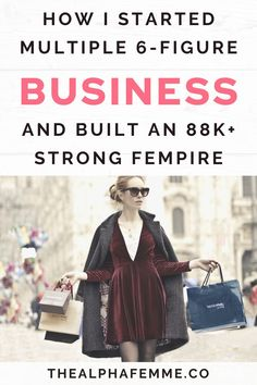 Learn how I have helped women like you build a 6-figure business from scratch and acquire up to $250,000 in funding, start INSANELY PROFITABLE side hustles that makes them 7 figures in passive income. #startabusiness #6figurebusiness #millionaireentrepreneur Closing Sales, How To Make Money, How To Become, Let That Sink In, Social Media Channels, Be Your Own Boss, Lead Generation, Starting A Business, Passive Income