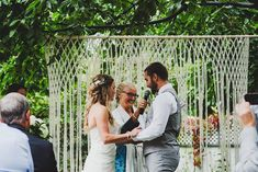 Wedding Ceremony Backdrop for an Arch Arbor by TheHousePhoenix