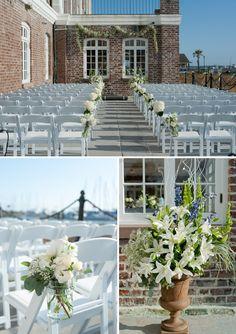 Historic Rice Mill Wedding | Charleston Weddings | The Wedding Row