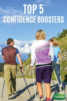 Life has a way of challenging us. Just when we're feeling quite sure of ourselves, it throws us a curveball to briefly bust our self-confidence bubble. Don't let an embarrassing moment of incontinence prevent your from feeling your best and taking adventures with friends. Maintain a healthy level of self-confidence and stay on top of your game with these Top 5 Confidence Boosters from Depend®.