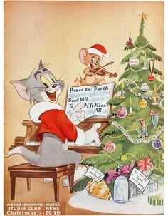tom and jerry! | old school | weihnachten