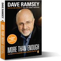 Dave Ramsey is America's trusted voice on money and business. He's authored seven best-selling books: Financial Peace, More Than Enough, The Total Money Makeover, EntreLeadership, The Complete Guide to Money, Smart Money Smart Kids and The Legacy Journey.