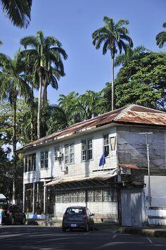 colonial house of Limon-COSTA RICA--vma.