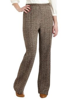 Vintage Well, Latte Da Pants, #ModCloth