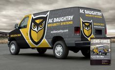 best security company wrap design, best truck wraps, award winning ...