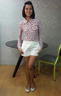 [Uber OOTD:Jun03-2014] top and shorts from Liu Jo