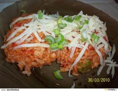 Rizoto z krabích tyčinek recept - TopRecepty. Cabbage, Krabi, Mexican, Meat, Chicken, Vegetables, Ethnic Recipes, Food, Author