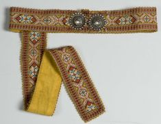 Norsk Folkemuseum - Photographer Reinsfelt, Anne-Lise Going Out Of Business, Weaving, Museum, Belt, Yellow, Beadwork, Accessories, Clothes, Belts