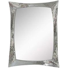 Mosaic Rectangular Mirror