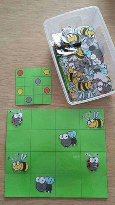 Topologie Idea for spacial awareness? Montessori Activities, Toddler Activities, Learning Activities, Preschool Activities, Kids Learning, Insect Activities, Coding For Kids, Kids Education, Pre School