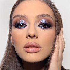 #maquillaje #ojos #ojosbonitos #pielperfecta #labios Kiss Makeup, Glam Makeup, Makeup Inspo, Makeup Art, Makeup Cosmetics, Makeup Inspiration, Beauty Makeup, Eye Makeup, Hair Makeup