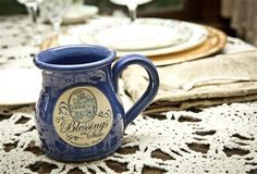 Deneen Pottery Mug - Blessings on State Bed and Breakfast - Jacksonville, IL - USA