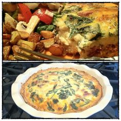 Whole Wheat Crust Quiche - plus a great website for inspiration and recipes that are healthy and GMO-free