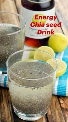 Fat Burning Drinks, Fat Burning Foods, Weight Loss Drinks, Weight Loss Smoothies, Yogurt, Bowls, Lemon Water Benefits, Chia Recipe, Lose 40 Pounds