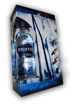 Eristoff Vodka Package Design