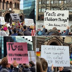 The geekiest signs from the 'Stand up for Science' rally