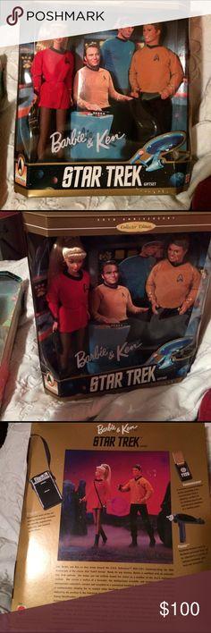 Selling this Barbie & Ken Star Trek 30th Anniversary!! on Poshmark! My username is: rileyreghan. #shopmycloset #poshmark #fashion #shopping #style #forsale #Mattel #Other