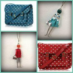 viavai negozio in via guastalla torino vintage style per le cartelle a pois e collane bambolina LOL Bijoux <3