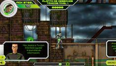 Max Steel Video Games by Carola Lucia, via Behance