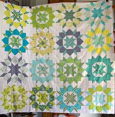 Swoon Quilt top by ShaShaLaRue, via Flickr