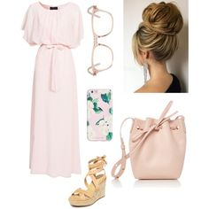 A fashion look from March 2017 by laney-light featuring Club L, Splendid, Mansur Gavriel, Yves Saint Laurent and ban.do