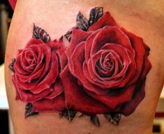 rose-flower-tattoo-by-Mirek-vel-Stotker-41-2.jpg (700×575)