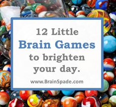 Some fun brain games Brain Training Games, Brain Games, Brain Builders, Muscle Problems, Fun Brain, Neuroplasticity, Best Brains, Benefits Of Exercise, Senior Fitness