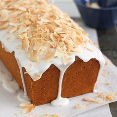Coconut-Buttermilk Pound Cake by Tracey's Culinary Adventures