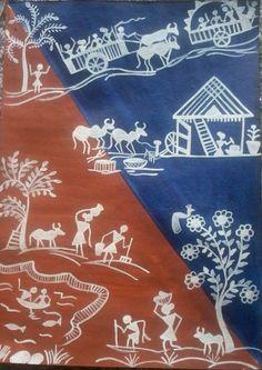 warli tribal art
