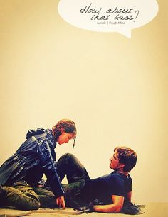 15 hours until the Hunger Games!!!   but they only kiss one time :(