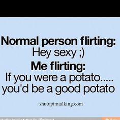 how i flirt