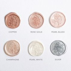 Image result for rose gold wax seal #weddinginvitation