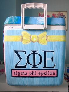frat cooler ideas - Google Search
