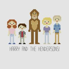 Harry and the Hendersons Cross Stitch