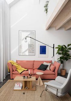 Swedish studio Förstberg Ling has converted a former blacksmith's workshop in Stockholm to create a light-filled family home for Petrus Palmér, co-founder of furniture brand Hem and design studio Form Us With Love.