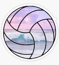 Volleyball stickers featuring millions of original designs created by independent artists. Beach Volleyball, Volleyball Designs, Volleyball Workouts, Volleyball Quotes, Volleyball Pictures, Volleyball Tattoos, Volleyball Training, Coaching Volleyball, Volleyball Players