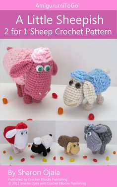 "Download ""Jelly Bean Monsters Amigurumi Crochet Pattern (English ..."